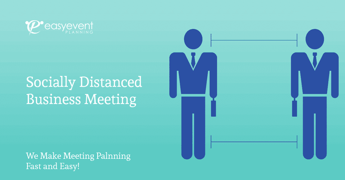 Socially Distanced Business Meeting