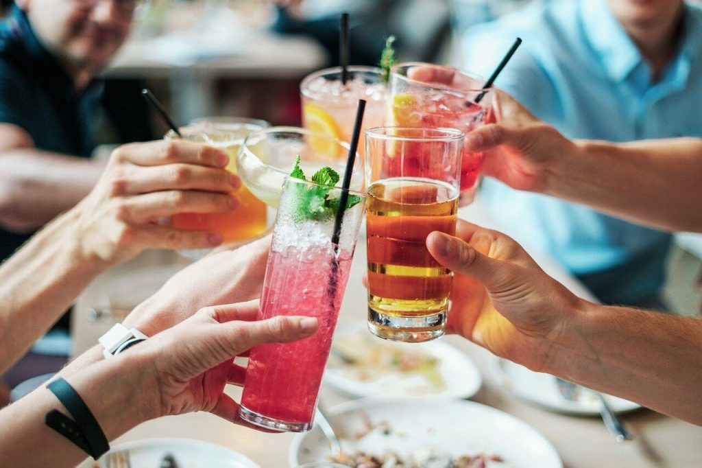 Adult Birthday Party Ideas for Drinks