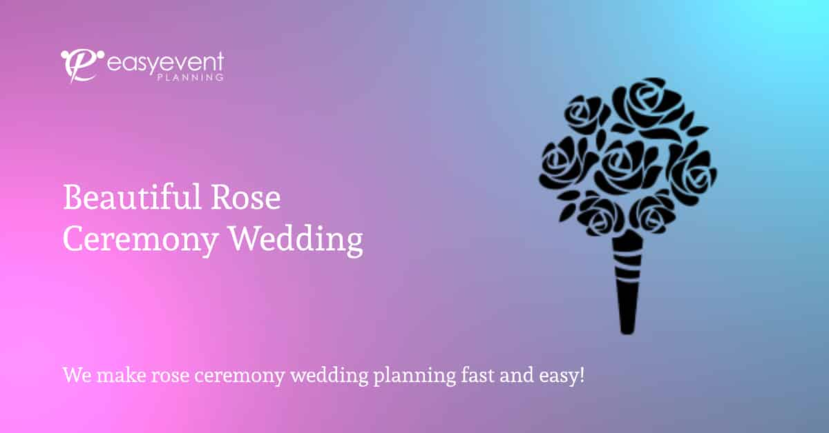 rose ceremony wedding