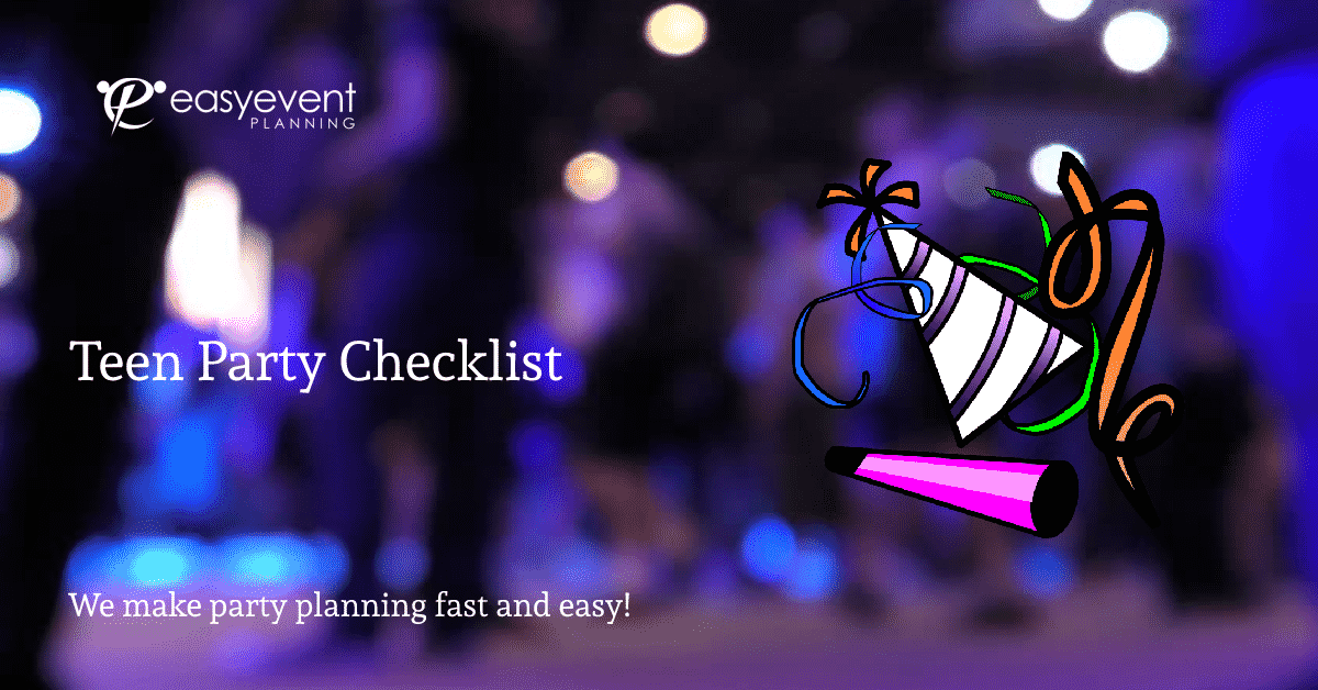 Teen Party Checklist