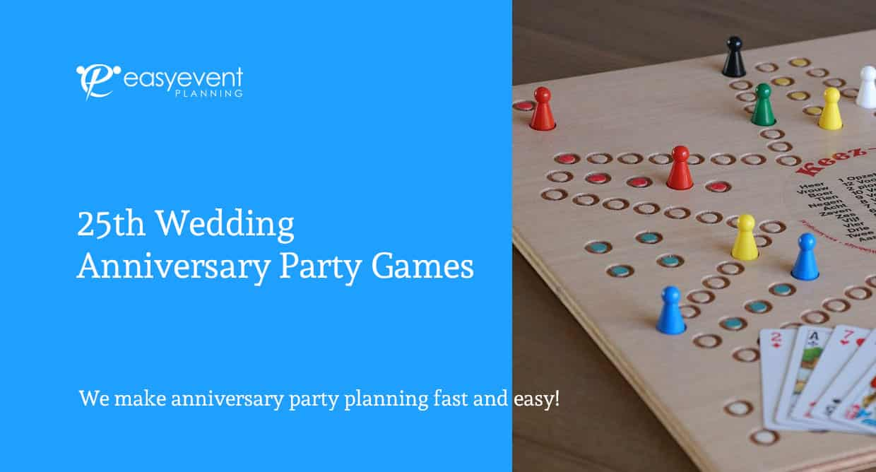 25th wedding anniversary party games