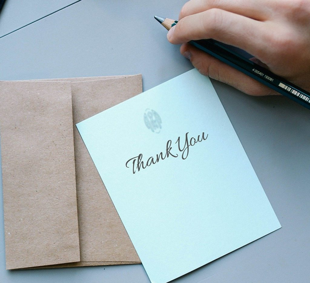 Bridal Shower Thank You Cards Wording Ideas for Family Guests