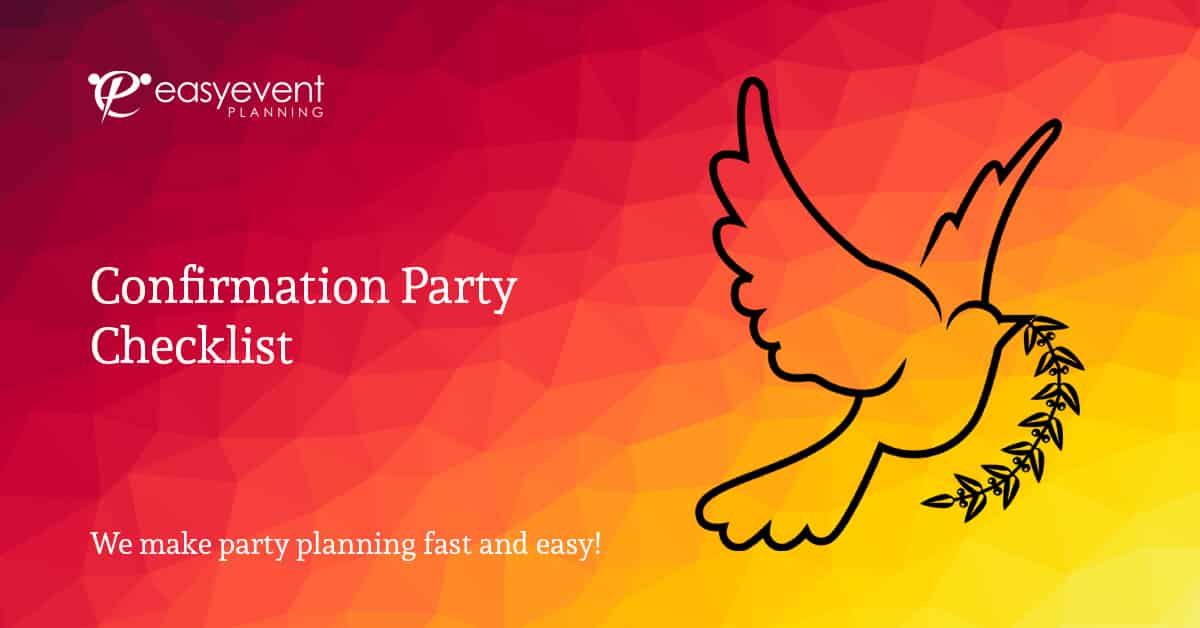 Confirmation Party Checklist