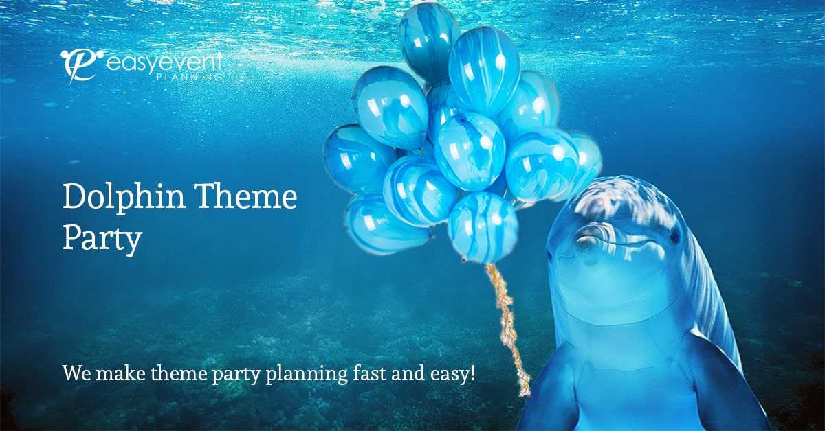 dolphin theme party