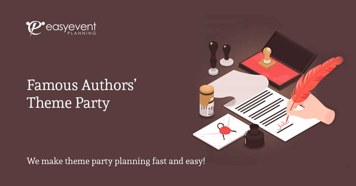Famous Authors' Theme Party