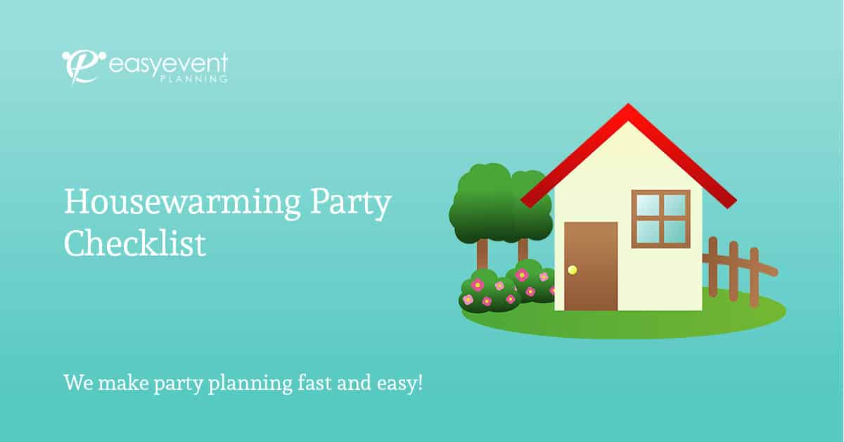 housewarming party checklist