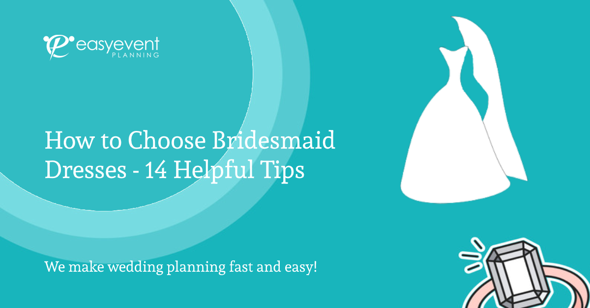 How to Choose Bridesmaid Dresses