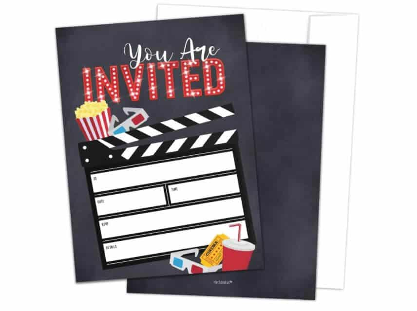 1940s Party Ideas - Invitations