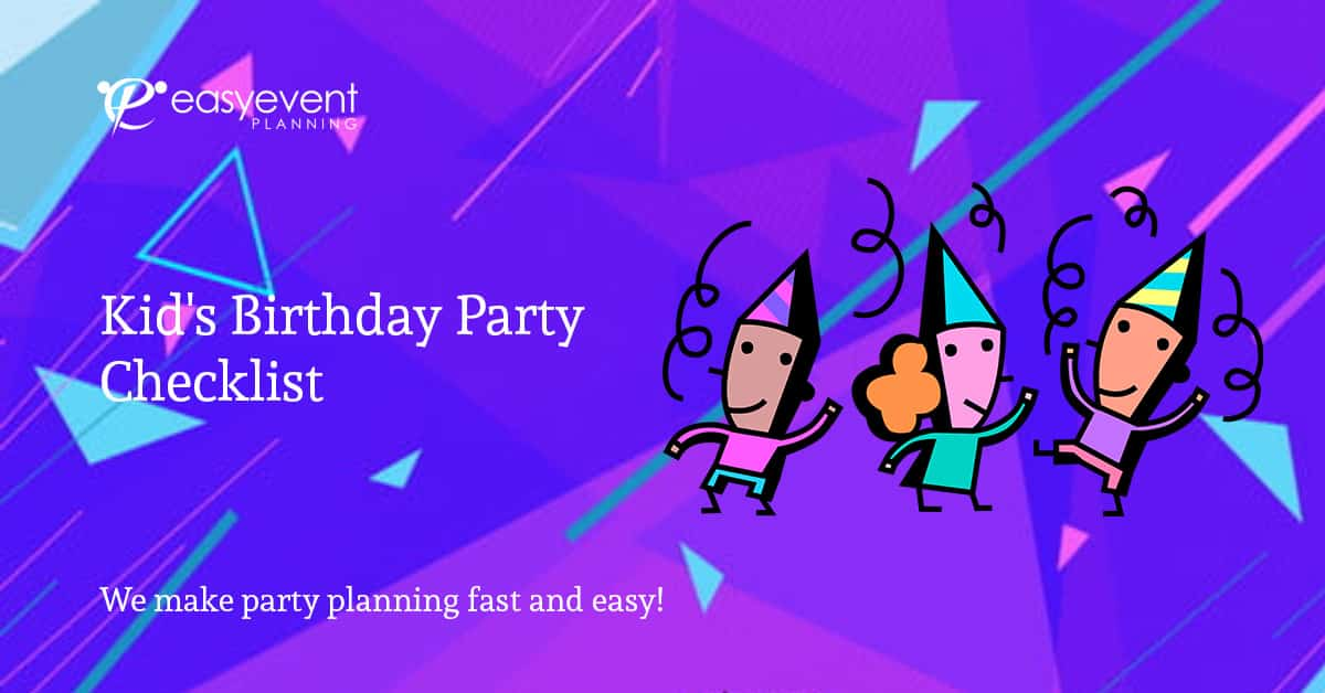 Kid's-Birthday-Party-Checklist