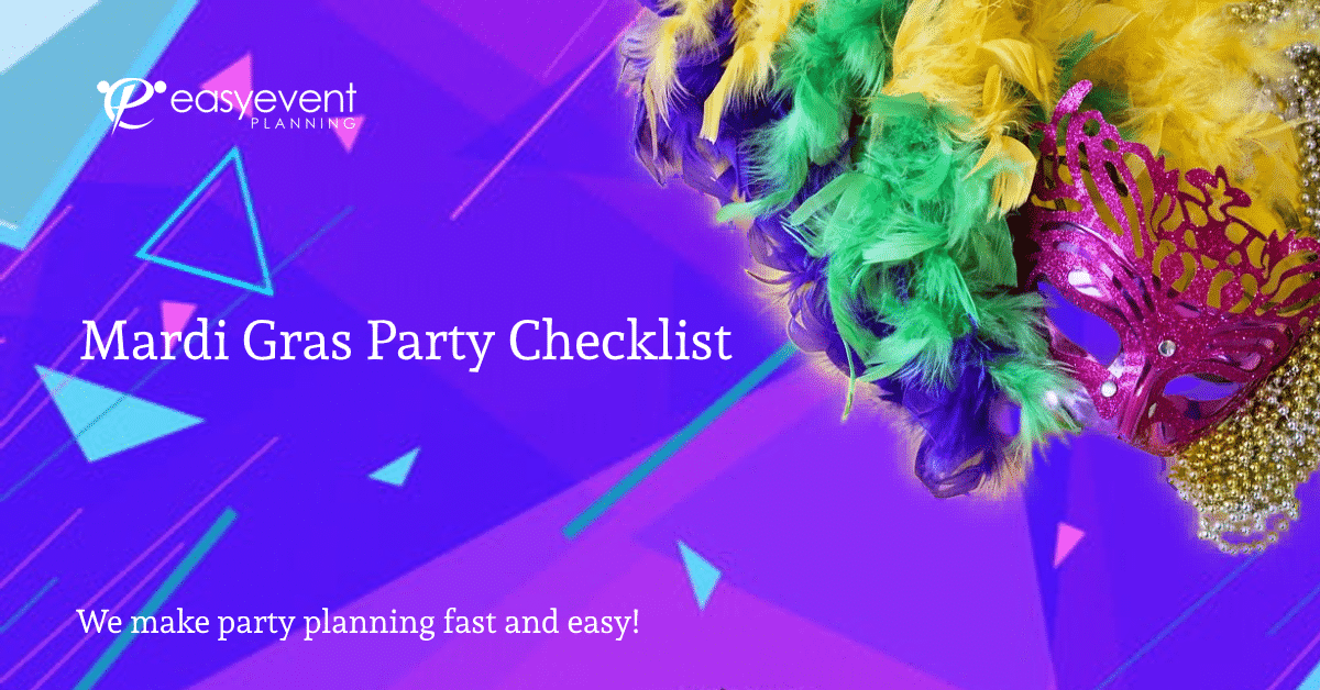 Mardi Gra Party Checklist