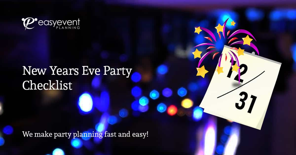 New Years Eve Party Checklist
