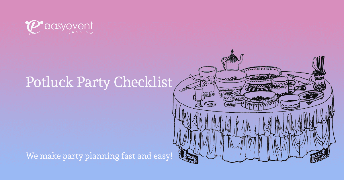 potluck party checklist