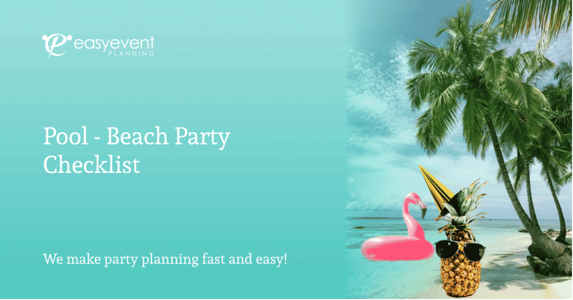 Pool-Beach Party Checklist