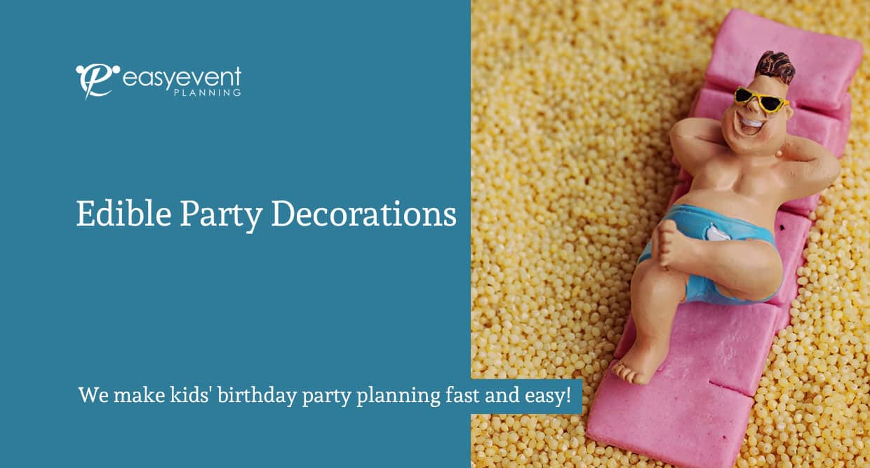Edible Party Decorations