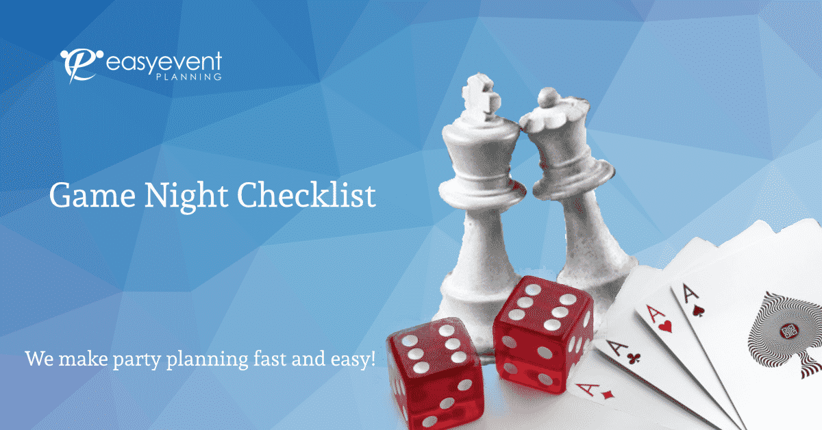 game night checklist