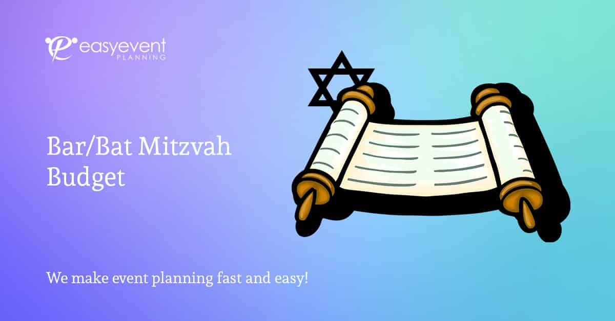 Bar Mitzvah Budget Worksheet