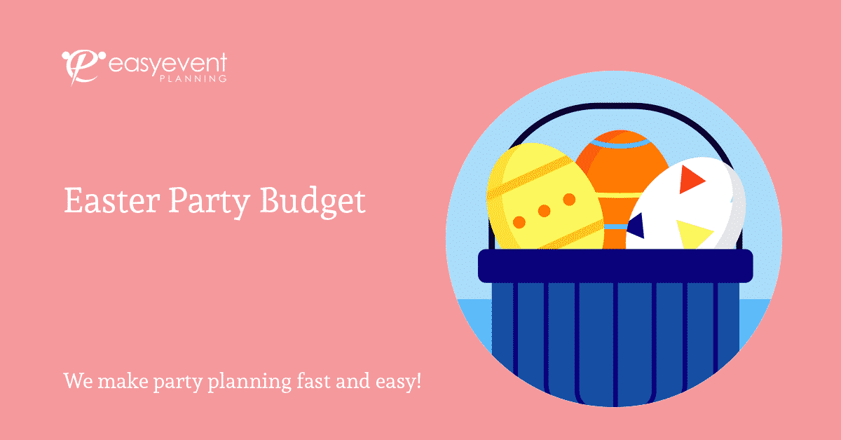 Easter Party Budget Worksheet