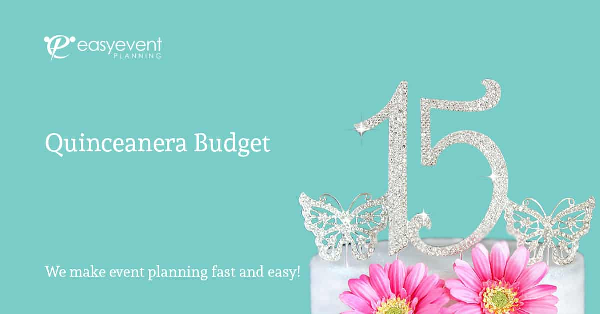 Easy Quinceanera Budget Worksheet