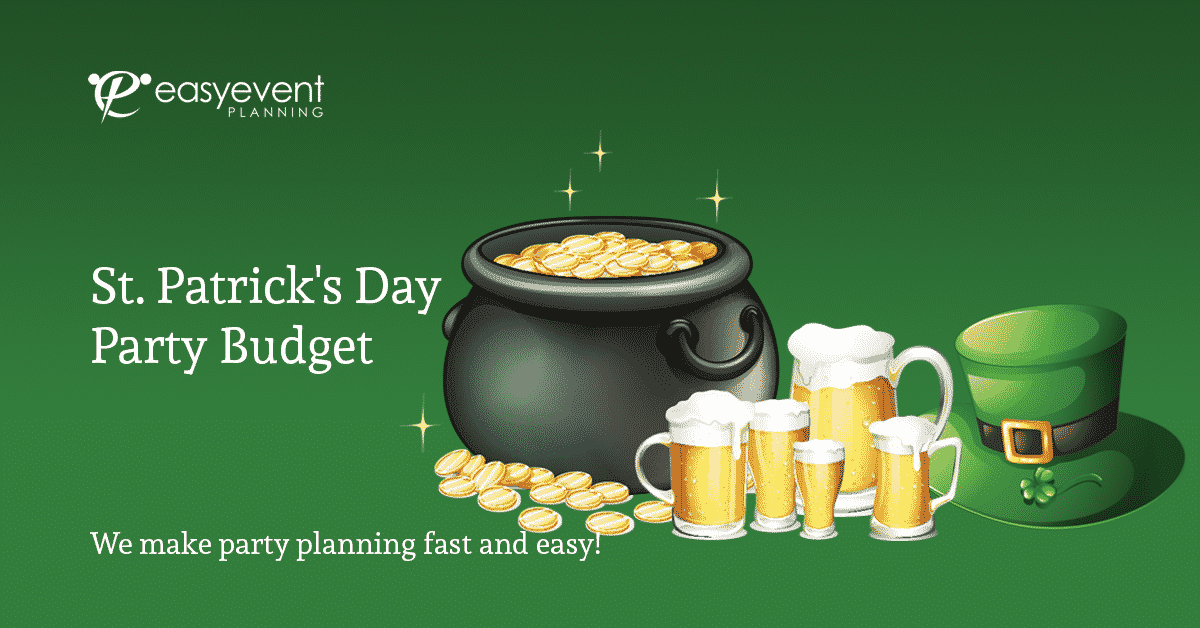 St. Patrick's Day Party Budget