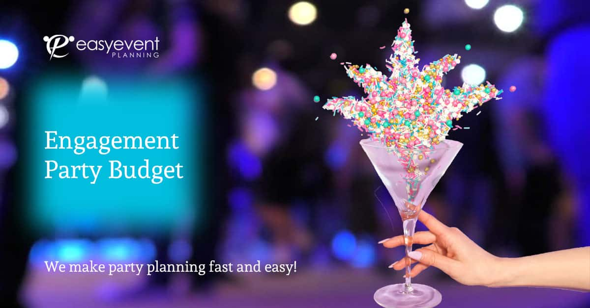 engagement party budget worksheet
