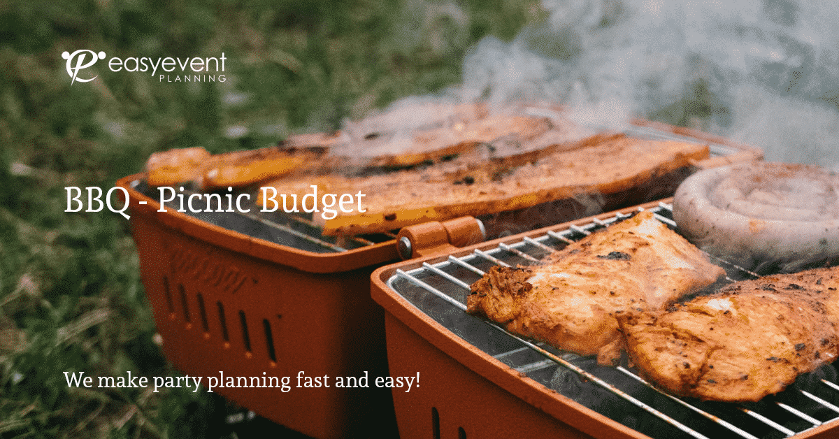 BBQ Budget Worksheet