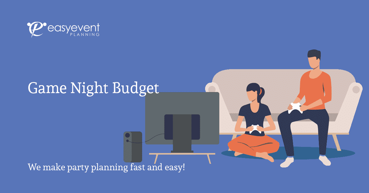 Easy Game Night Budget Worksheet