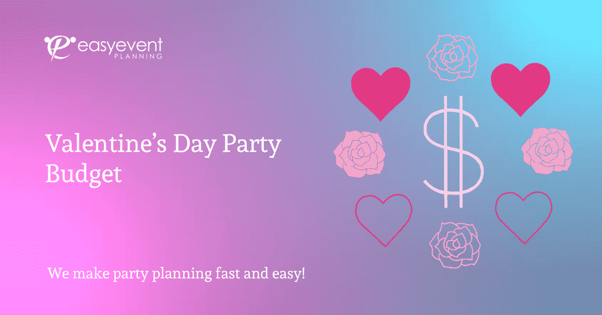 Valentine's Day Party Budget Worksheet