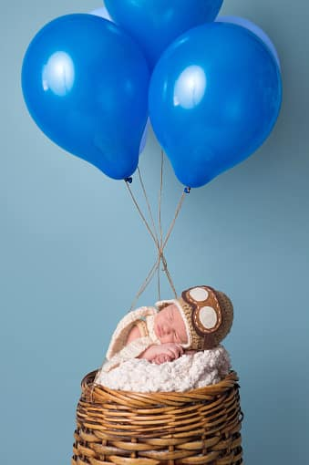 Hot Air Balloon Baby Shower Decorations