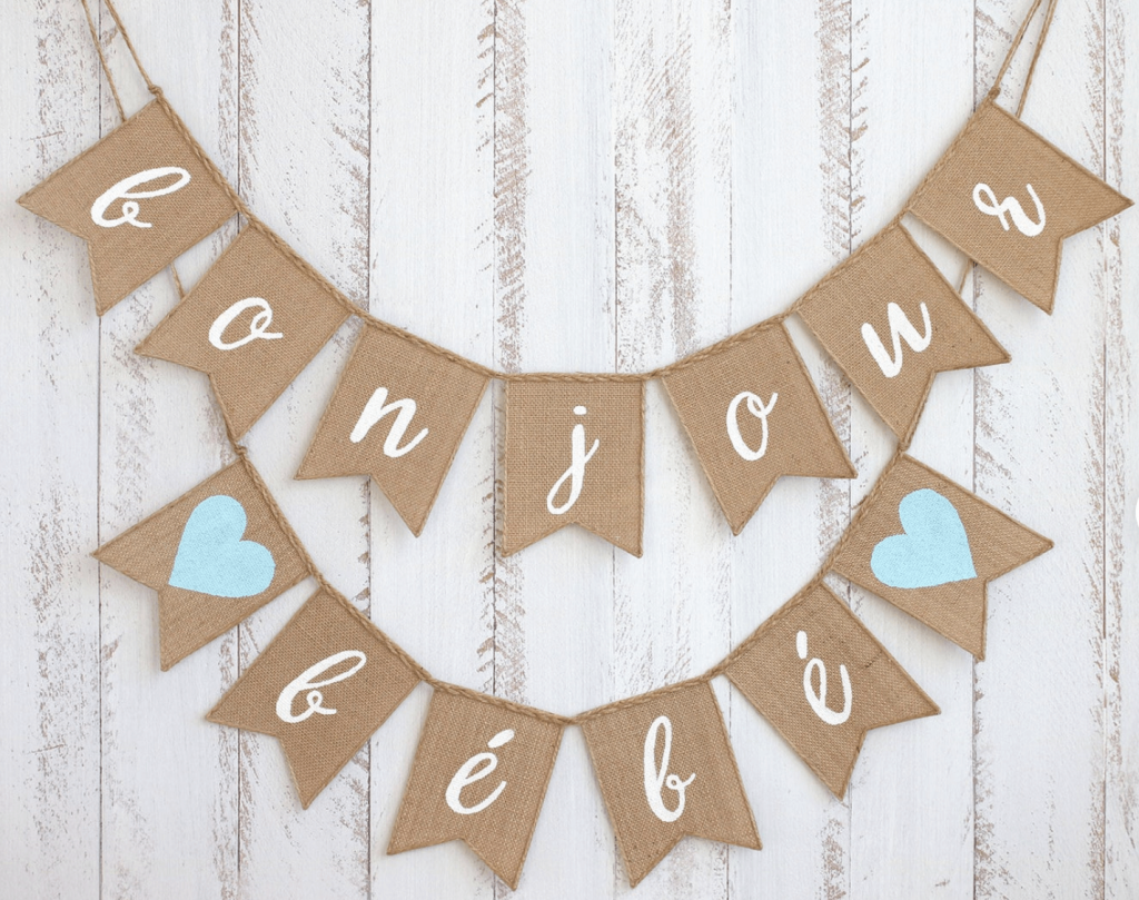 french theme baby shower decorations