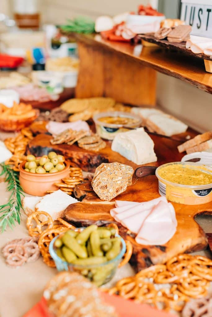 Rustic Baby Shower Food Ideas