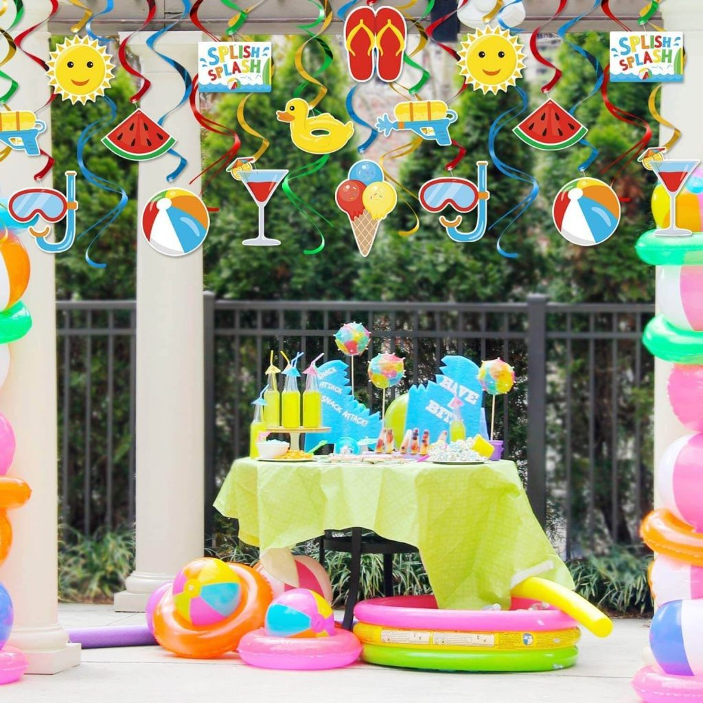 Summer Birthday Party Ideas: Decorations