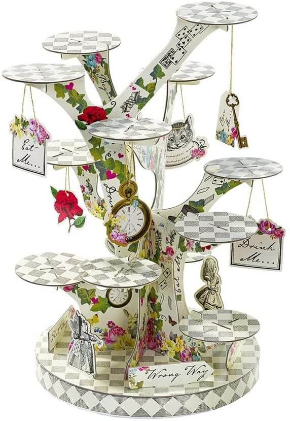Alice in Wonderland Party Ideas: Decorations