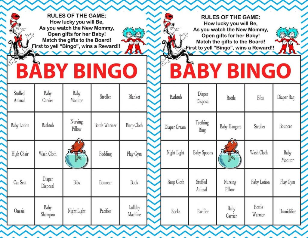 Fun With Dr. Seuss Baby Shower: Party Game Ideas
