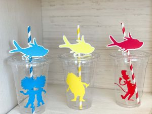 Dr. Seuss Cups and Straws