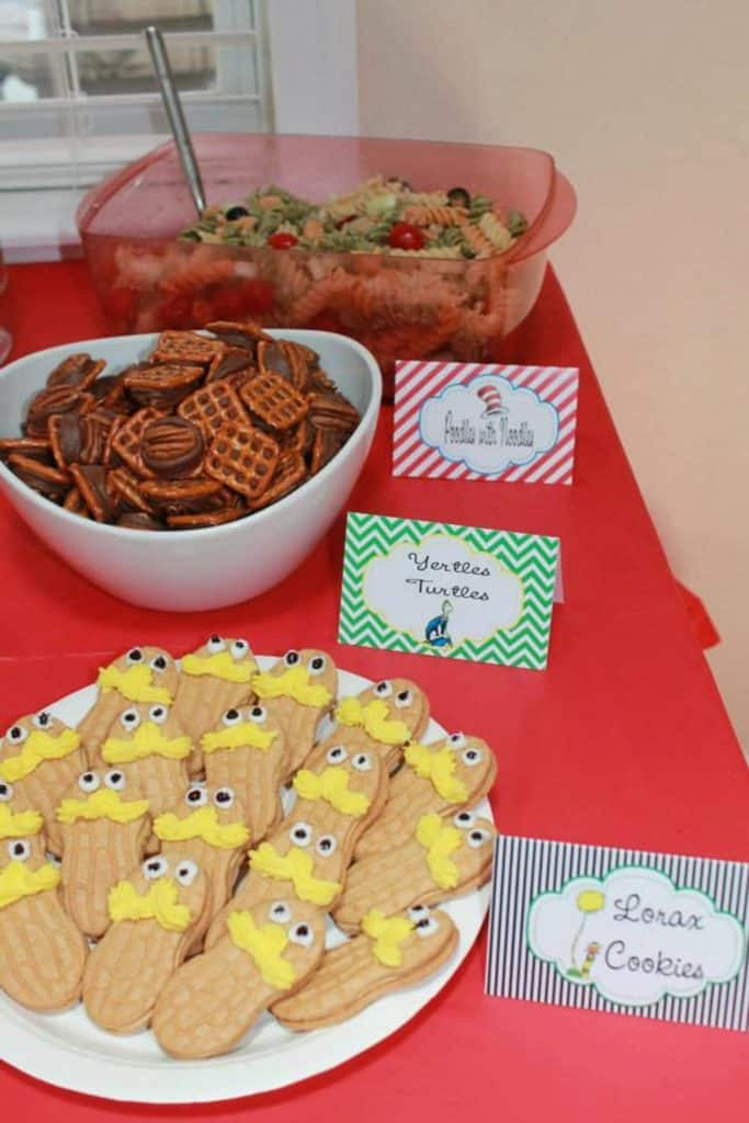 Fun With Dr. Seuss Baby Shower Food and Beverage Ideas