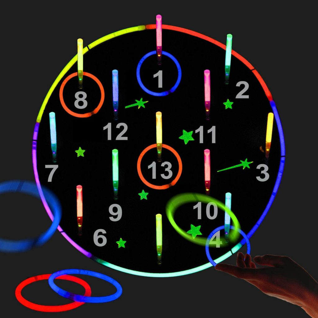Glow in the Dark Theme Party Games