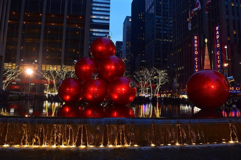 New York City Theme Party Holidays Style