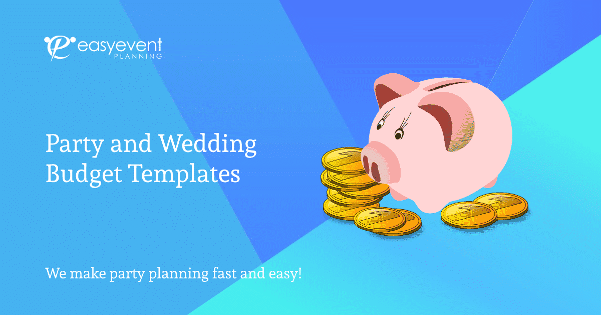 Party and Wedding Budget Templates