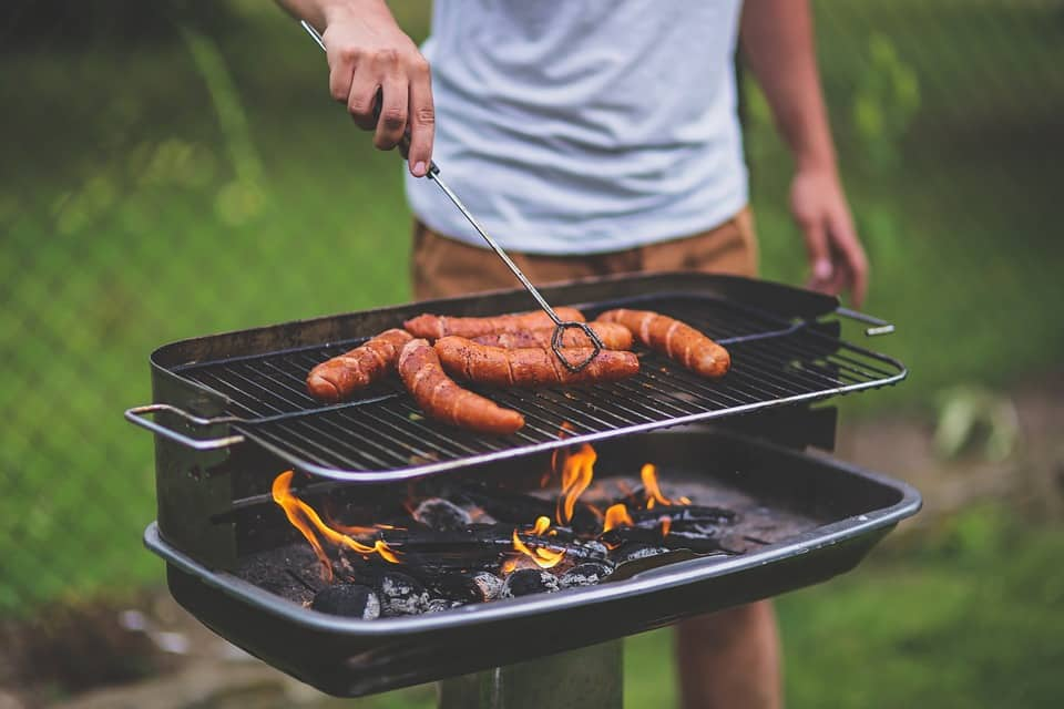 backyard party ideas cool-off