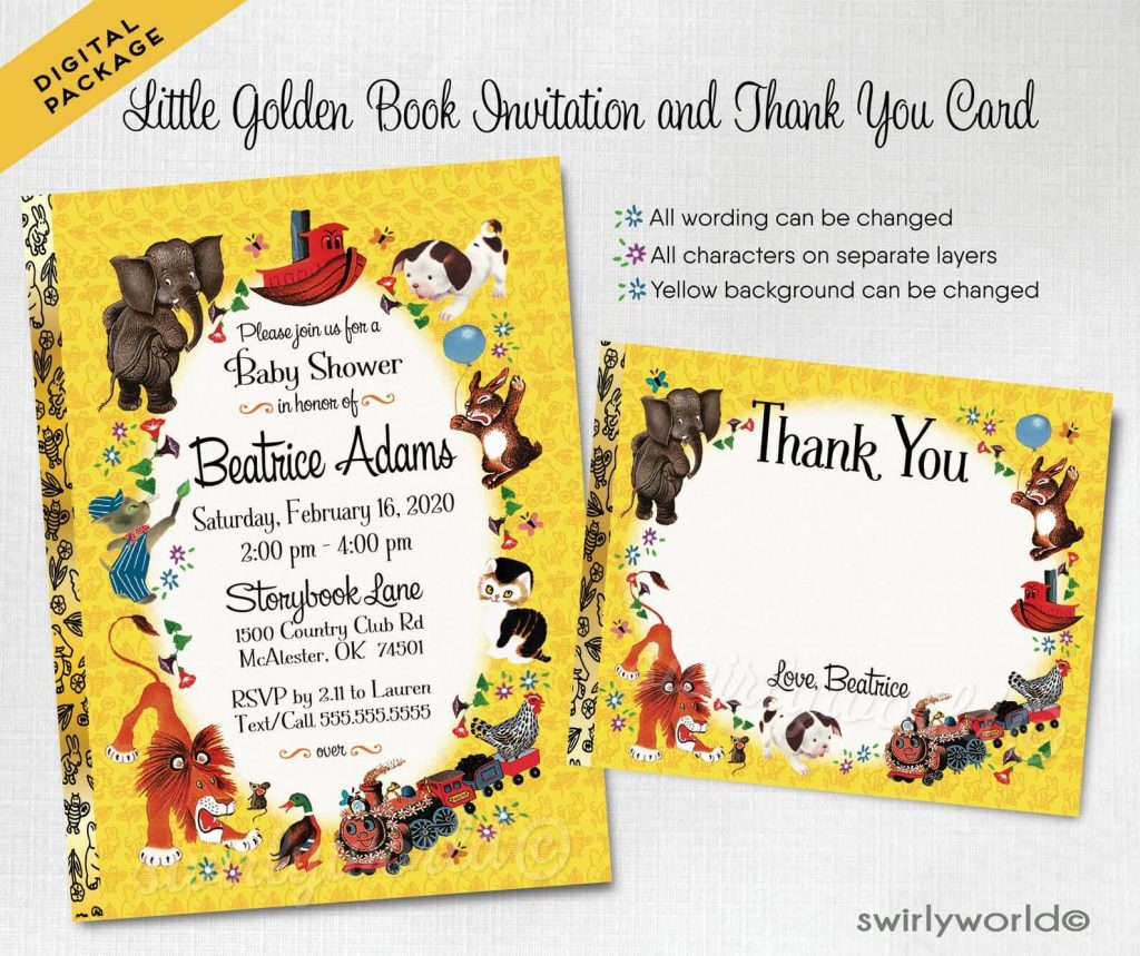 book-themed-baby-shower-invitations-goldenbook