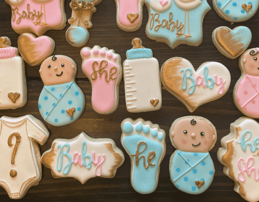 boy or girl gender reveal menu ideas