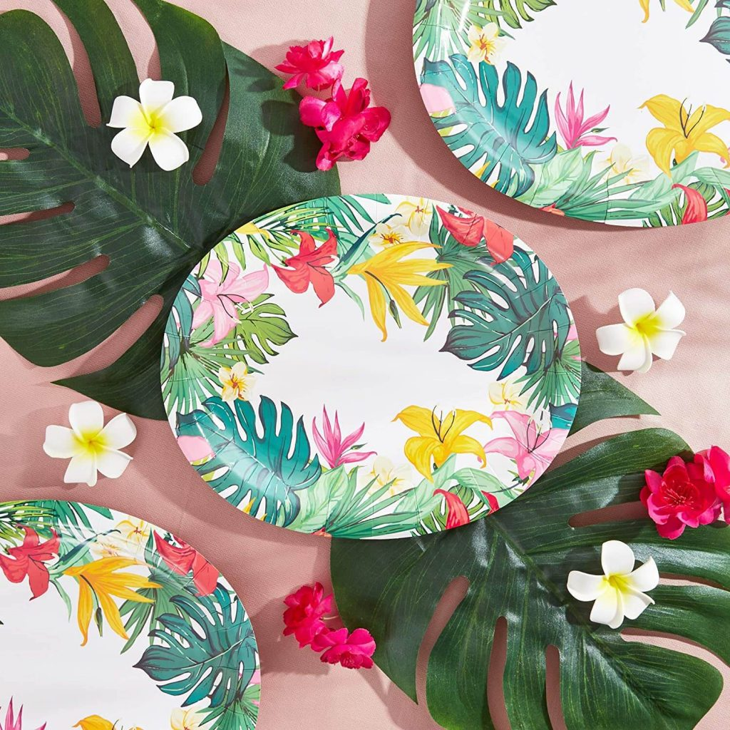 Luau baby shower party supplies