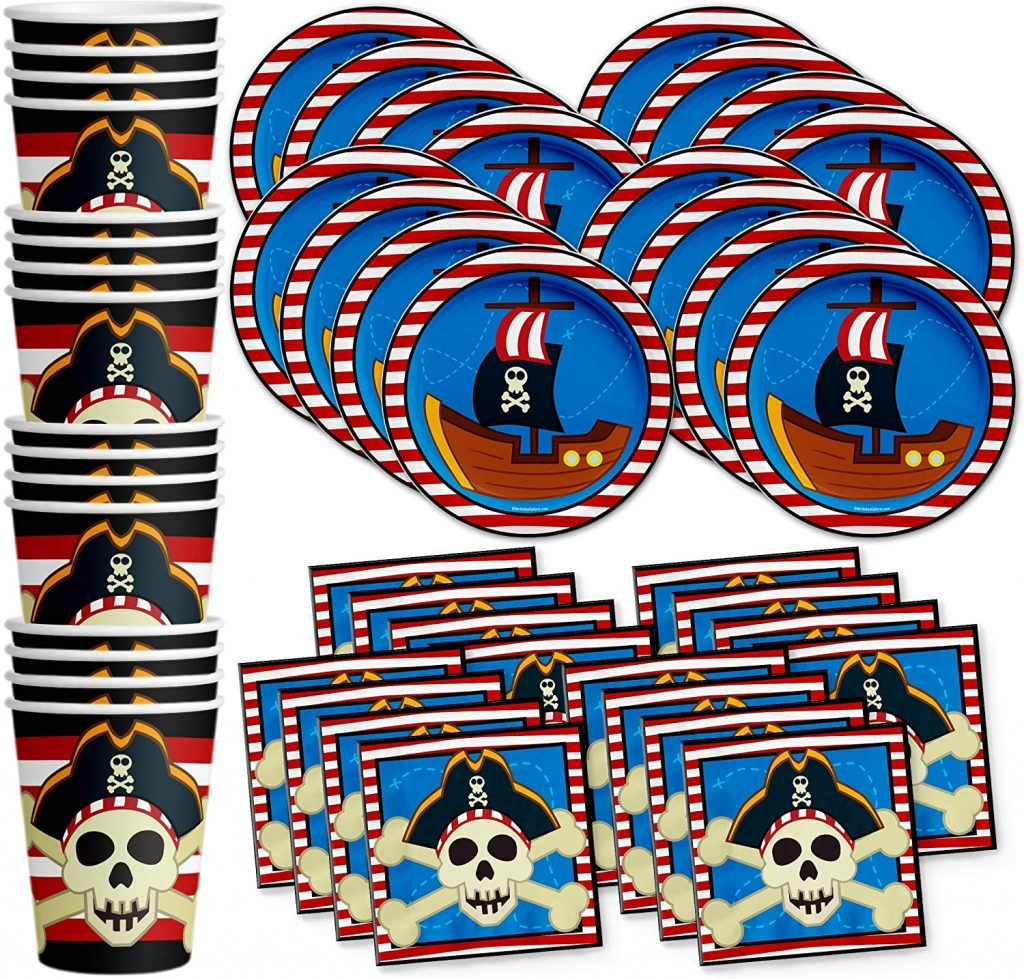 Pirate Themed Birthday Party Supplies