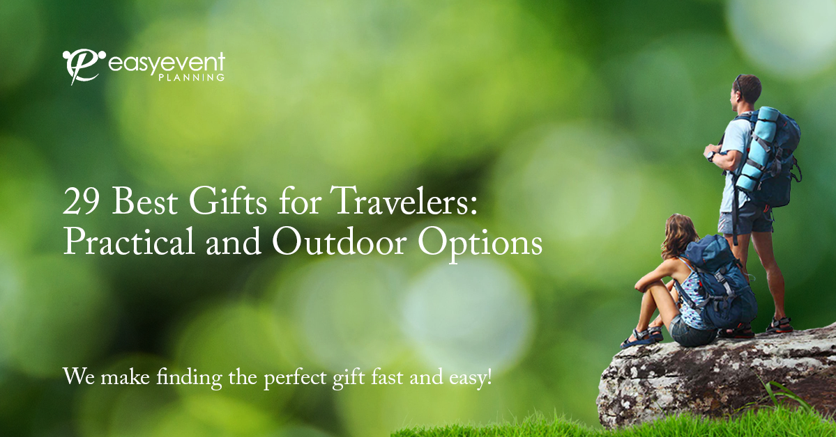 29 Best Gifts for Travelers Practical and Outdoor Options