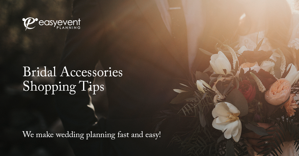 6 Essential Bridal Accessories Shopping Tips