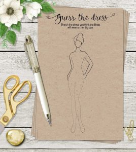 Guess the dress theme party game